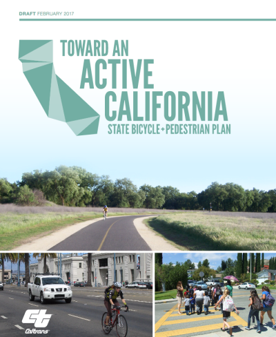 Toward an Active California - CA Bike and Ped Plan