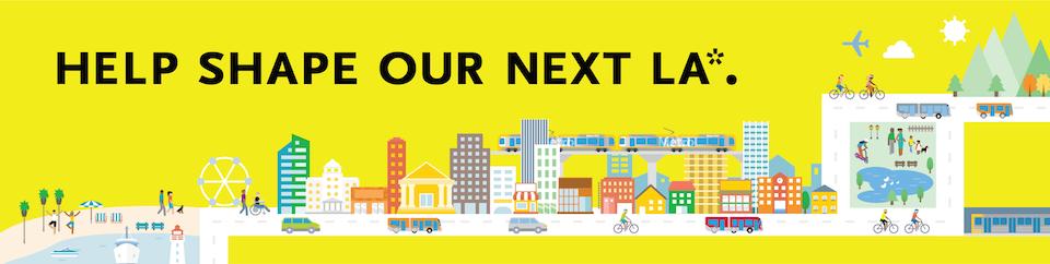 Our Next LA campaign logo