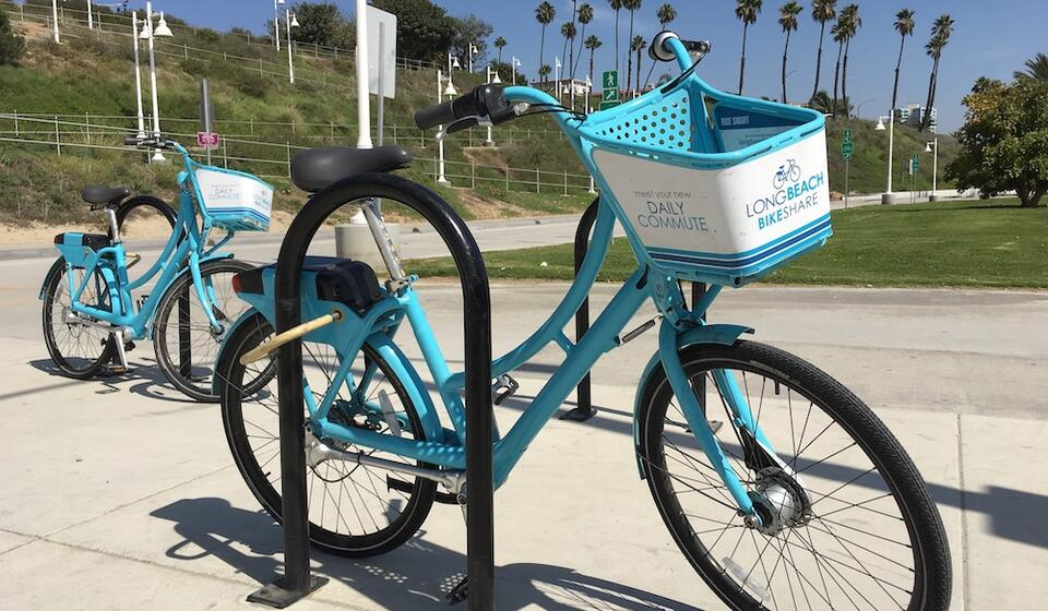 Bikes for the Long Beach Bike Share Program